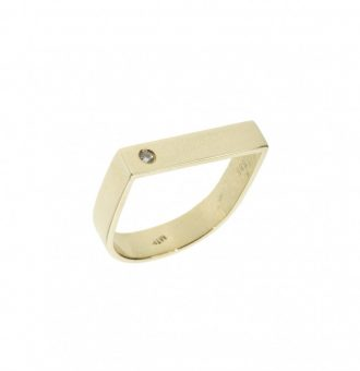 SIMPLICITY GOLD RING
